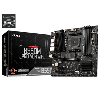 MSI B550M PRO-VDH (WI-FI) MOTHERBOARD | computerstore.lk | The largest Brand New Mother Board store in sri lanka