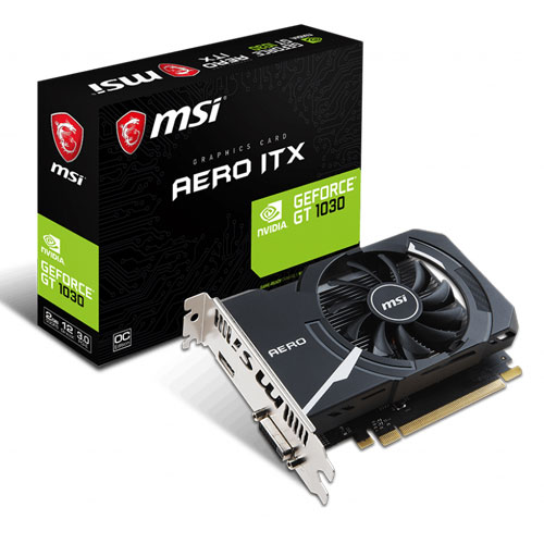 MSI GT 1030 AERO ITX 2G OCV1 GRAPHICS CARD | computerstore.lk | The largest Brand New Graphic Cards store in sri lanka