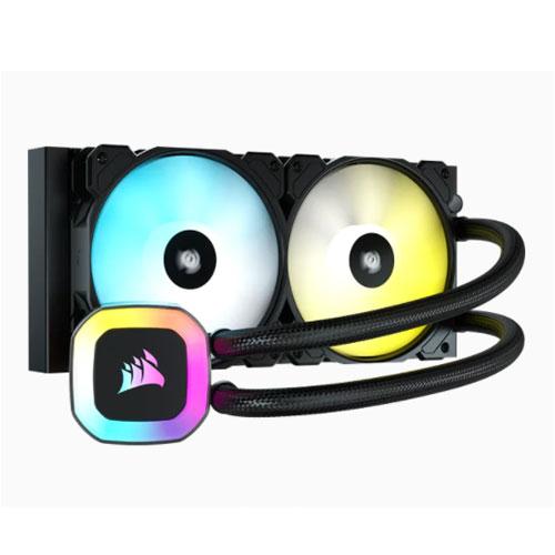 CORSAIR H100 RGB 240MM LIQUID CPU COOLER | computerstore.lk | The largest Brand New Desktop Accessories store in sri lanka