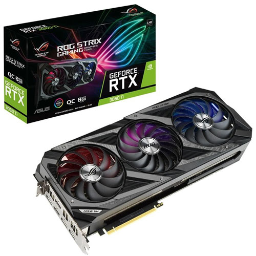 ROG STRIX GEFORCE RTX 3060 TI V2 OC EDITION 8GB GDDR6 WITH LHR | computerstore.lk | The largest Brand New Graphic Cards store in sri lanka