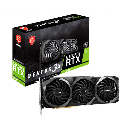 MSI GEFORCE RTX 3080 TI VENTUS 3X 12GB OC GDDR6X GRAPHICS CARD | computerstore.lk | The largest Brand New Graphic Cards store in sri lanka